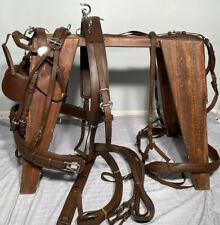 *Leaders Worldwide Inc* Tech Pleasure Harness For Horse/Full Size Brown ~