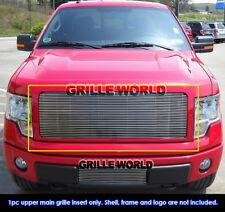 Fits 2009-2014 Ford F-150 Billet Main Upper Grille Insert