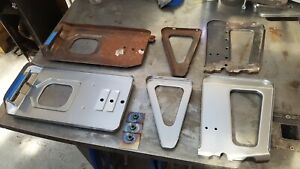 FORD CAPRI BATTERY TRAY NEW PANEL MK1 V6 NOS REPLACEMENT