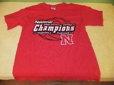 2006 Nebraska Cornhuskers Volleyball Champions Short Sleeve T-Shirt Youth Medium