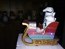 Utica Club Schultz And Dooley Christmas Sleigh. Lights Up!