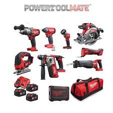 Milwaukee MILKIT8 8pc 18V 3x 5Ah Cordless Power Tool Kit