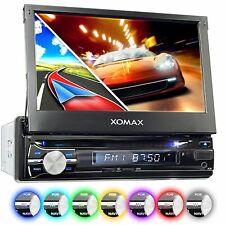"XOMAX XM-DTSBN933 Autoradio con Navigatore GPS 7"" LCD Schermo Touchscreen 1DIN - Nero"