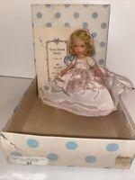 Nancy Ann Storybook Doll Bisque Frozen Leg Pretty Maid Going A-Milking IN BOX