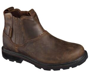 MEN'S SKECHERS BLAINE - ORSEN BROWN BOOT 62929 CDB