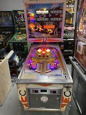 1977 GOTTLIEB BRONCO SUPER NICE PLAYFIELD 4 PLAYER EM LEDS
