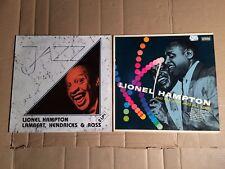 LIONEL HAMPTON - AND THE JUST JAZZ ALL STARS / LAMBERT, HENDRICKS & ROSS - 3 LP