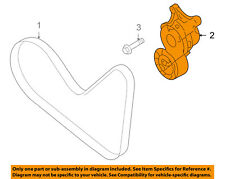 FORD OEM-Serpentine Fan Belt Tensioner BT4Z6B209B
