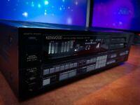 KENWOOD KR-V75R (1986) Vintage Stereo Receiver with Digital Equalizer