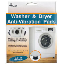 Washer & Dryer Anti-Vibration Heavy Duty Rubber Pads Set - 4 pcs