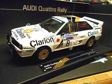 AUDI QUATTRO RALLY WM GB RAC 1985 Eklund Clarion #8 prezzo speciale SUNSTAR 1:18