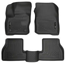 Husky Liners 99771 WeatherBeater 3 Piece Floor Mats Black 2016-2017 Ford Focus