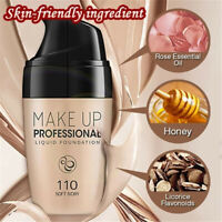 Smooth Silk Serum Foundation Full Coverage Professional Matte Liquid Makeup