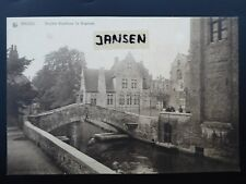 Fotokarte Brügge Bruges Großformat 20 x 14 cm Derriere Gruuthuse