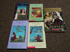 GAIL CARSON LEVINE 6 young adult books SERIES: THE PRINCESS TALES