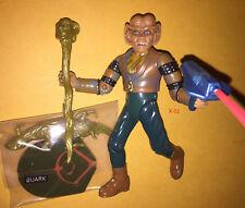 STAR TREK DS9 deep space nine QUARK ferengi alien FIGURE toy odo pal bartender