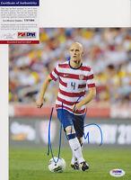 MICHAEL BRADLEY 2014 USA WORLD CUP SIGNED AUTOGRAPH 8X10 PHOTO PSA/DNA COA #1