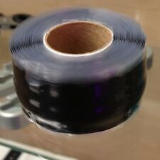Silicone Tape 1 x 10ft Black Fusing Repair Tape X-treme Mighty Fixit Rescue