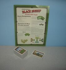 New 2008 Fantasy Flight Games Black Sheep Game Replacement Parts Animal Cards
