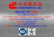 1 Hole Burner Chinese Wok Range NSF CSA Natural Gas Commercial Restaurant NEW