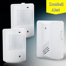 Driveway Patrol Infrared Wireless Alert System Motion Sensor Alarm Security New