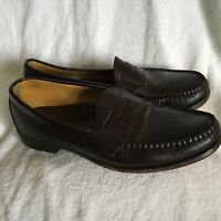 Brooks Brothers  Full Strap Penny Loafer Dress Shoes Men's Size 10.5 D