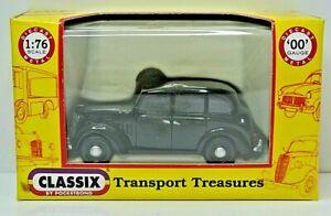MINT Classix EM76846 Austin FL1 Hackney Carriage Taxi in Black for 00 Gauge