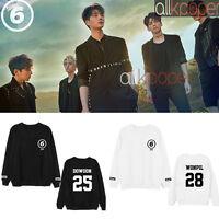 Kpop Day6 Sweater Young K Dowoon Causal Sweatershirt Jae Long Sleeve Sungjin