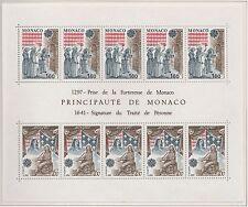 Europa CEPT 1982 Historische gebeurtenissen Monaco blok 19 - Postfris MNH