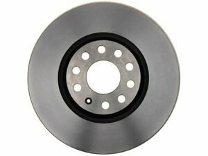 For 2002 Audi S4 Brake Rotor Front AC Delco 89442TY Silver -- New