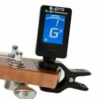 Chromatic LCD Display Clip On Tuner Electric Acoustic Guitar Bass Violin Banjo