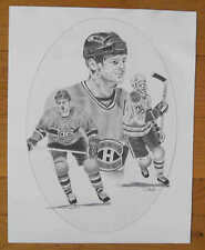 "1986-87 Kraft Chris Nilan 16""x20"" Montreal Canadiens Poster"