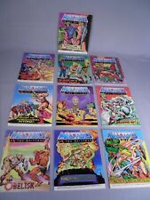 BIG Lot of 10 Masters of the Universe Booklets MOTU by Mattel