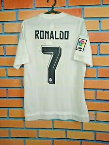 Ronaldo Real Madrid Jersey 2015 2016 Home SMALL Shirt Football Adidas AK2494