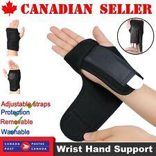 Steel Wrist Support Splint Carpal Tunnel Syndrome Sprain Strain Bandage Brace CA