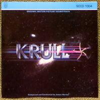 O.S.T. CD JAMES HORNER KRULL 8 SONGS 1987 SOUTHERN CROSS REC. U.S.A.  L.S.O.