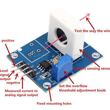 Wcs1800 Hall Current Detection Sensor Module 35a With Overcurrent Signal Lamp
