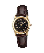 LTP-V001GL-1B Brown Ladies Watch Casio New Model Analog Brand-New