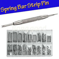 360x8-25mm Watch Band Spring Bars Metal Strap Link Pins+Remover Reparatur-Too ZG