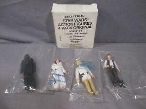 STAR WARS HAN SOLO LUKE SKYWALKER PRINCESS LEIA  Kenner Baggie Mail Away 1984