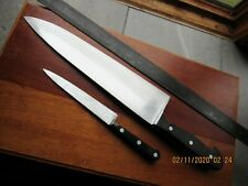 "Sabatier carbon slicer blade Stainless F Dick 12"" Chef Knife 1356-12 Splitting"