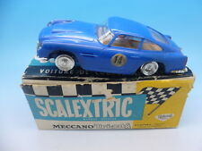 Scalextric French E3 Aston Martin GT in Blue, C68 Boxed