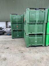 More details for green  storage pallet box 700 litre dolavs