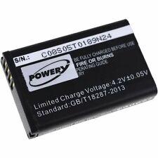 Bateria para Garmin Montana 600t camo 3,7v 2200mah/8, 14wh Li-ion negro