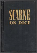 SCARNE ON DICE John Military Book Cheating Cheat 1945 2nd REVISED ED HC