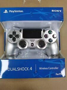 Silver-Wireless Bluetooth Controller ps4 Version 2 Original Gamepad Dualshock 4