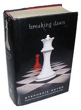 BREAKING DAWN by STEPHENIE MEYER 2008 1st Edition, Bella Swan, Edward Cullen
