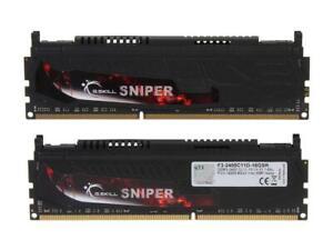G.SKILL Sniper Series 16GB (2 x 8GB) 240-Pin DDR3 SDRAM DDR3 2400 (PC3 19200) De