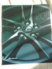 Lexus range brochure 2011 USA market