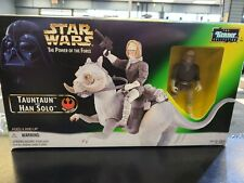Kenner 1998 Star Wars Power Of The Force TaunTaun & Han Solo